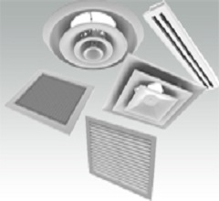 Hvac Grilles And Diffusers Ruskin Titus Gulf